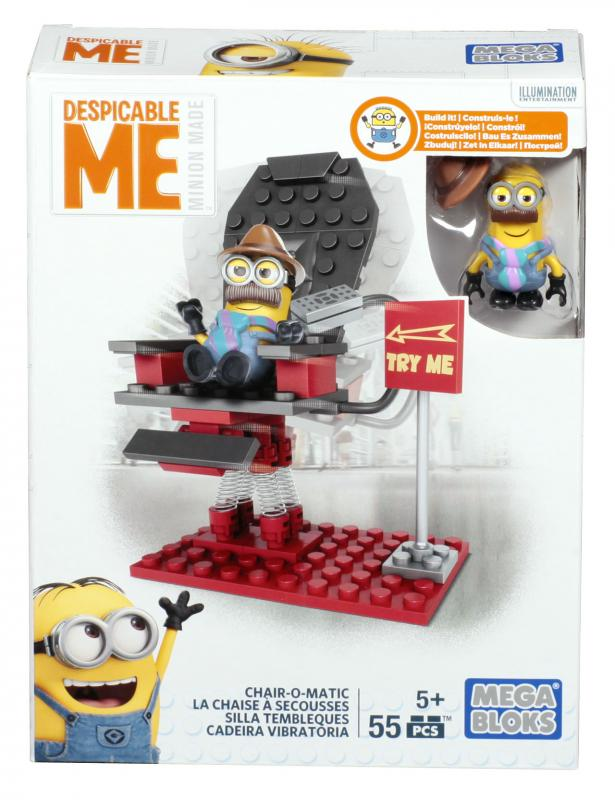 Mega Bloks MIMOŇOVÉ MALÝ SET - Chair-o-matic