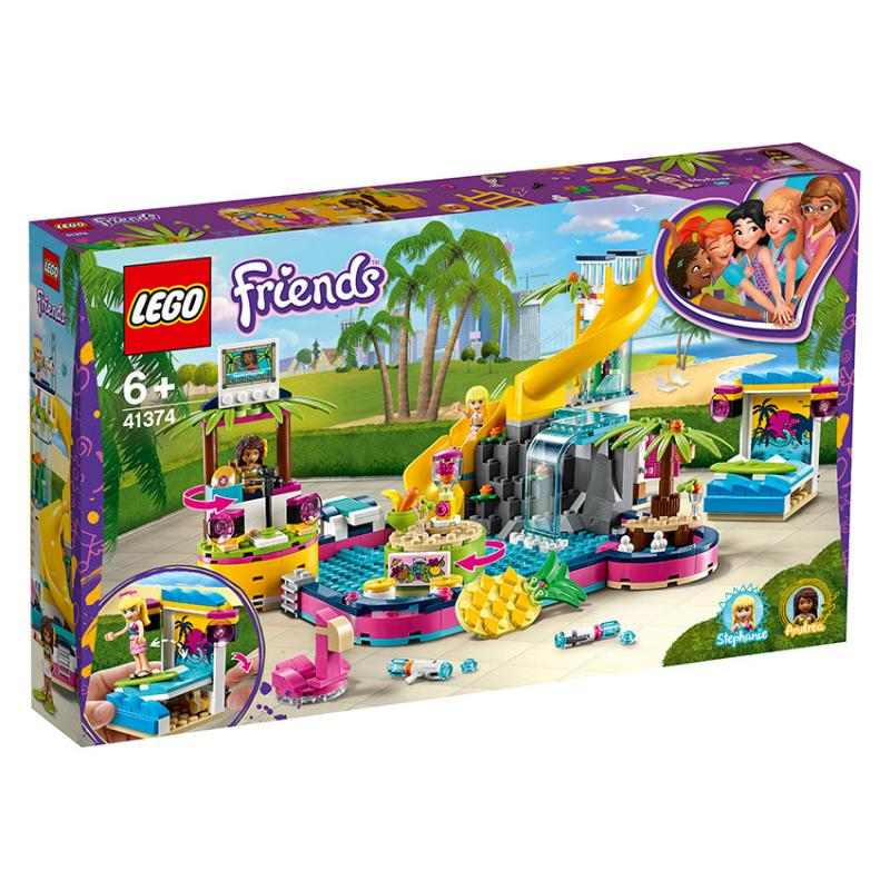 LEGO® FRIENDS 41374 Andrea a party u bazénu