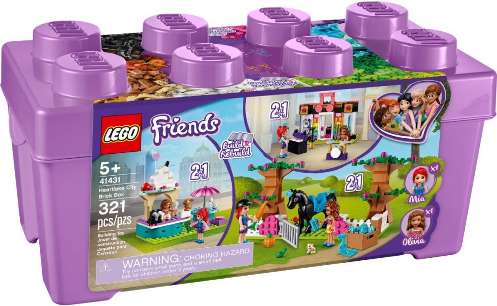 LEGO Friends 41431 Box s kostkami z městečka Heartlake *
