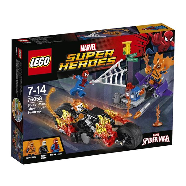 LEGO Super Heroes 76058 Spiderman: Ghost Rider vstupuje do týmu