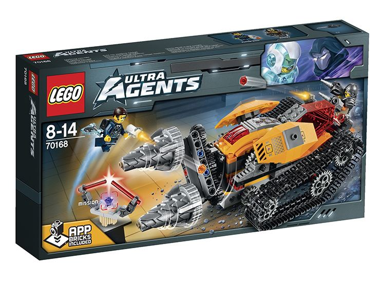 LEGO ULTRA AGENTS 70168 - Drillex krade diamant