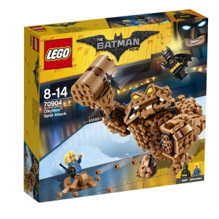 LEGO Batman Movie 70904 Clayfaceův bahnitý útok