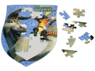 Puzzle board SHREK 24 pcs