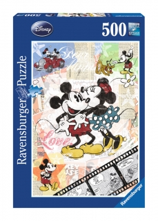 Ravensburger Puzzle 500 dílků Disney Mickey a Minnie